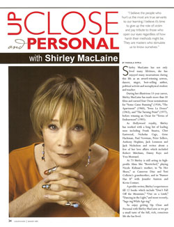 Shirley MacLaine - Up Close and Personal with Marsala Rypka