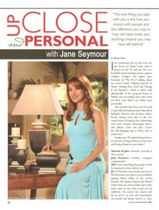 Jane Seymour - Up Close and Personal with Marsala Rypka