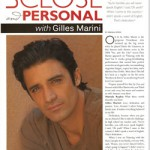 Gilles Marini: Don't Judge This Book By Its Cover!