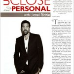 Lionel Richie - Up Close & Personal with Celebrity Scribe Marsala Rypka