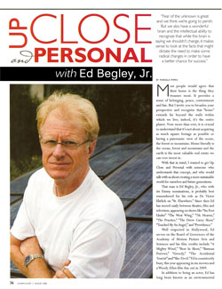 Ed Begley, Jr. - Up Close and Personal