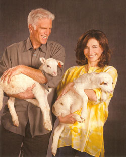 Mary & Ted for Heifer International
