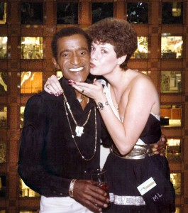 Sammy Davis Jr. and Marsala in Las Vegas.
