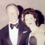 Frank Sinatra and Marsala at Caesars Palace in Las Vegas.
