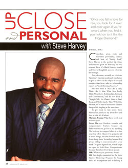 Steve Harvey - Up Close & Personal