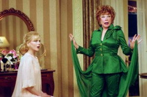 Shirley MacLaine and Nicole Kidman in Bewitched