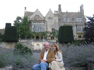 Jane and James at St. Catherine's Court