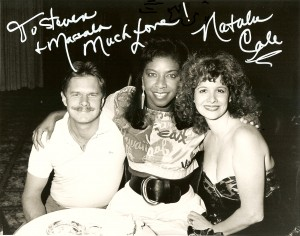 Natalie Cole with Steven and Marsala Rypka.