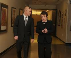 Andre and Billie Jean King