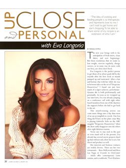 Eva Longoria - Up Close & Personal with Marsala Rypka