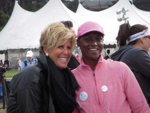 Suze Orman - Avon for the Cure.walk.