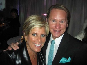 Suze Orman with Carson Kressley.