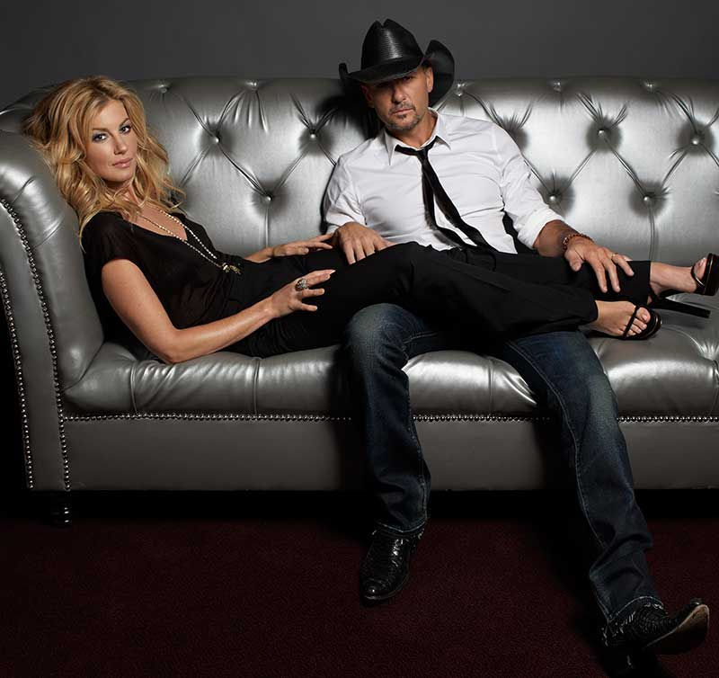 Faith Hill And Tim McGraw Appearing At The Venetian In Las Vegas
