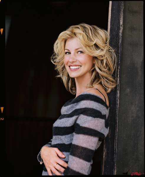Faith Hill Natural Hair Color
